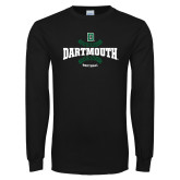 Black Long Sleeve T Shirt-Softball