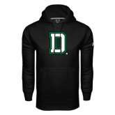 Under Armour Black Performance Sweats Team Hood-Dartmouth D