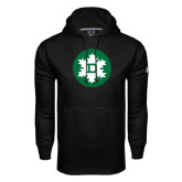 Under Armour Black Performance Sweats Team Hood-Dartmouth Ski