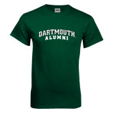 Dark Green T Shirt-Alumni