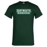 Dark Green T Shirt-Dartmouth Big Green