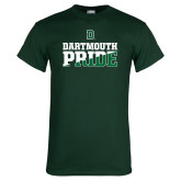 Dark Green T Shirt-Dartmouth Pride