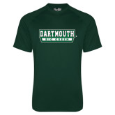 Under Armour Dark Green Tech Tee-Dartmouth Big Green
