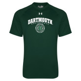 Under Armour Dark Green Tech Tee-Volleyball