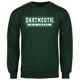 Dark Green Fleece Crew-Dartmouth Big Green