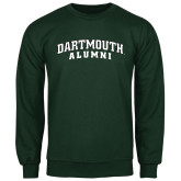 Dark Green Fleece Crew-Alumni