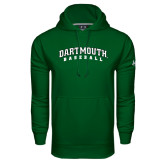 Under Armour Dark Green Performance Sweats Team Hood-Baseball