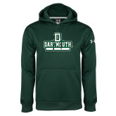 Under Armour Dark Green Performance Sweats Team Hoodie-Dartmouth