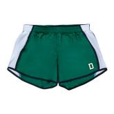 Ladies Dark Green/White Team Short-Dartmouth D