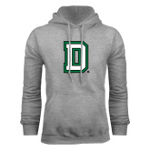 Grey Fleece Hood-Dartmouth D