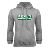 Grey Fleece Hood-Dartmouth Big Green