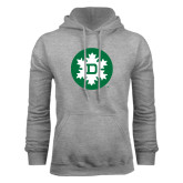 Grey Fleece Hood-Dartmouth Ski