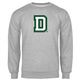 Grey Fleece Crew-Dartmouth D