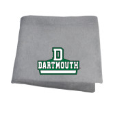 Grey Sweatshirt Blanket-D Dartmouth Stacked