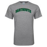 Grey T Shirt-Dartmouth Arched