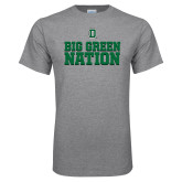 Grey T Shirt-Big Green Nation