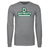 Grey Long Sleeve T Shirt-Dartmouth