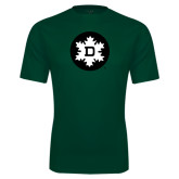 Performance Dark Green Tee-Dartmouth Ski