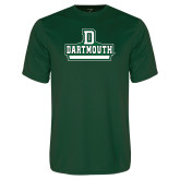 Performance Dark Green Tee-Dartmouth