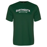 Performance Dark Green Tee-Soccer