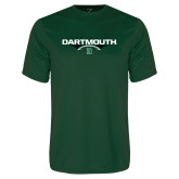 Performance Dark Green Tee-Football