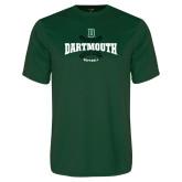 Performance Dark Green Tee-Softball