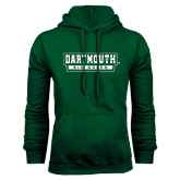 Dark Green Fleece Hood-Dartmouth Big Green
