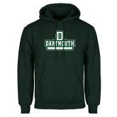 Dark Green Fleece Hood-Dartmouth