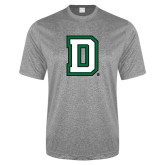 Performance Grey Heather Contender Tee-Dartmouth D