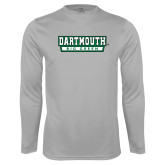 Performance Platinum Longsleeve Shirt-Dartmouth Big Green