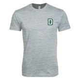 Next Level SoftStyle Heather Grey T Shirt-Dartmouth D