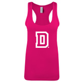 Next Level Ladies Raspberry Ideal Racerback Tank-Dartmouth D