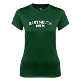 Ladies Syntrel Performance Dark Green Tee-Mom