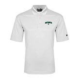 Under Armour White Performance Polo-Arched Dartmouth w/D