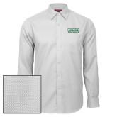 Red House White Diamond Dobby Long Sleeve Shirt-Dartmouth Big Green