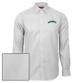 Red House White Diamond Dobby Long Sleeve Shirt-Dartmouth Arched