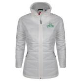 Columbia Mighty LITE Ladies White Jacket-Dartmouth