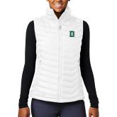 Columbia Mighty LITE Ladies White Vest-Primary Mark