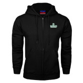 Black Fleece Full Zip Hood-D Dartmouth Stacked