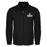 Full Zip Black Wind Jacket-D Dartmouth Stacked