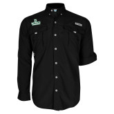 Columbia Bahama II Black Long Sleeve Shirt-Dartmouth