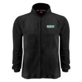 Fleece Full Zip Black Jacket-Dartmouth Big Green