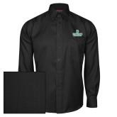 Red House Black Herringbone Long Sleeve Shirt-Dartmouth