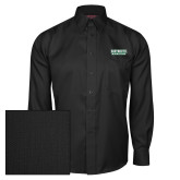 Red House Black Herringbone Long Sleeve Shirt-Dartmouth Big Green