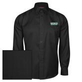 Red House Black Herringbone Long Sleeve Shirt-Dartmouth Big Green