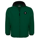 Dark Green Survivor Jacket-D Snowflake