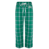 Green/White Flannel Pajama Pant-D Dartmouth Stacked