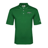 Under Armour Dark Green Performance Polo-Arched Dartmouth w/D