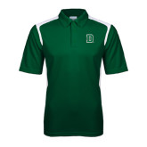 Dark Green Textured Gameday Polo-Dartmouth D