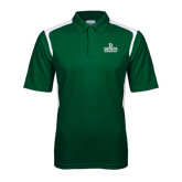 Dark Green Textured Gameday Polo-Dartmouth Big Green